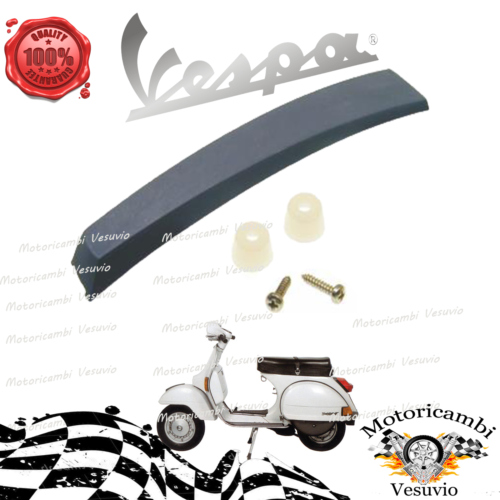 Crest fender polished aluminum for vespa px pe