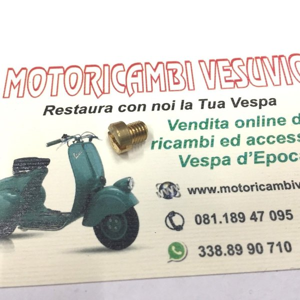 CICLER GETTO CARBURATORE VESPA MM 51 PER CARBURATORE 16.10