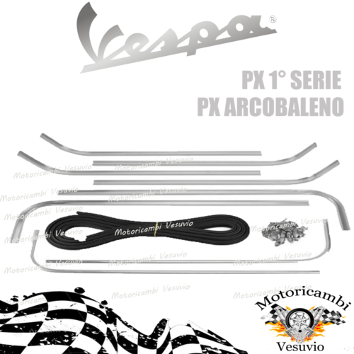 series of strips for the platform vespa px 125 150 200